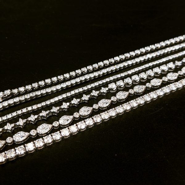 diamond tennis bracelets for women